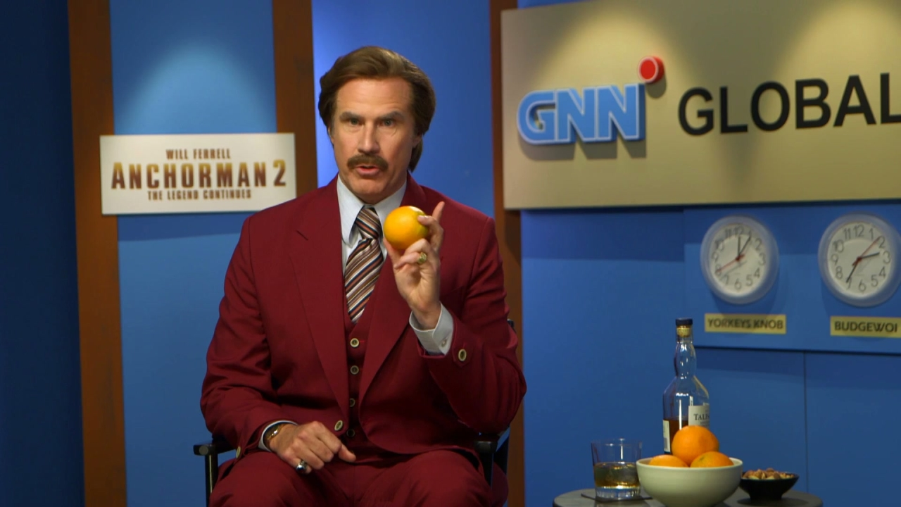 Anchorman 2: The Legend Continues: Burgundy Wednesday (UK)