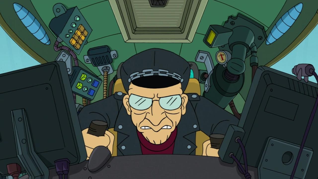 Futurama: 2-D Blacktop
