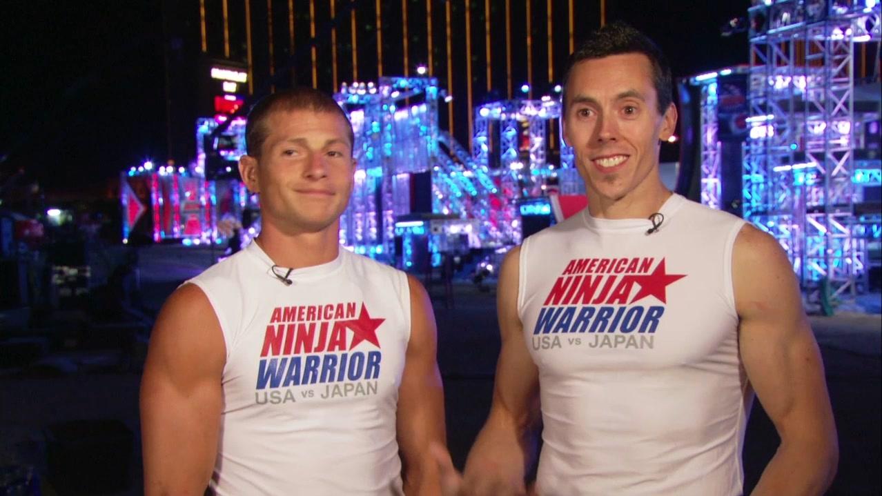 American Ninja Warrior Special: USA Vs Japan Brent Stephenson, Travis Rosen