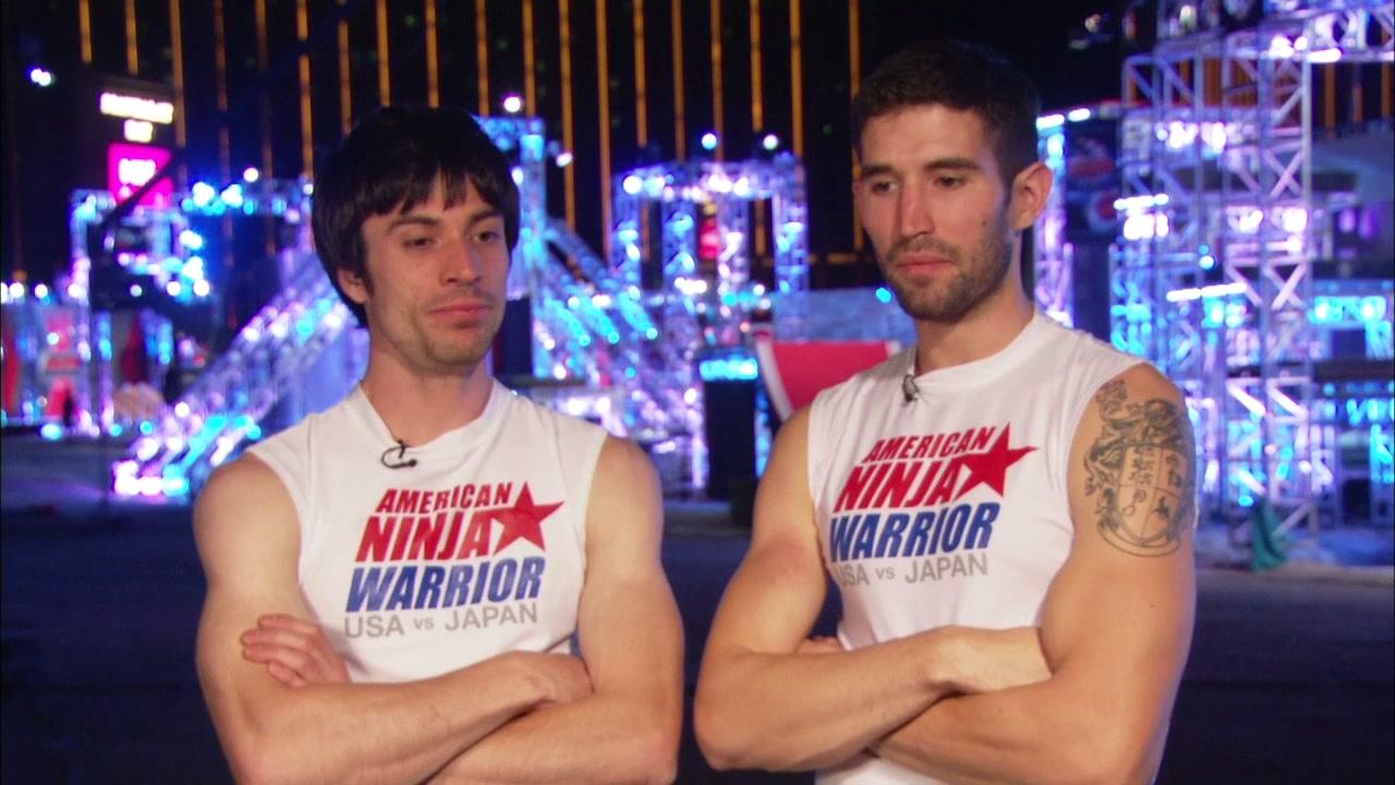 American Ninja Warrior Special: USA Vs Japan Paul Kasemir, James Mcgrath