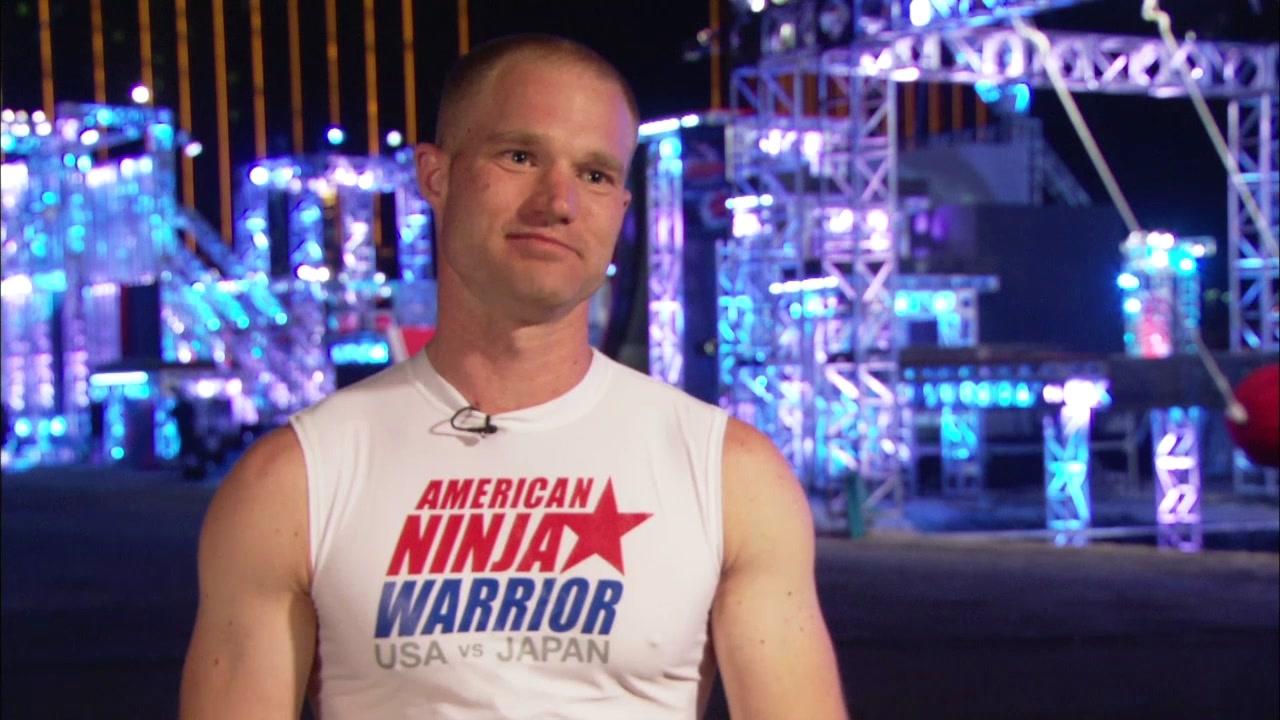 American Ninja Warrior Special: USA Vs Japan Brian Arnold