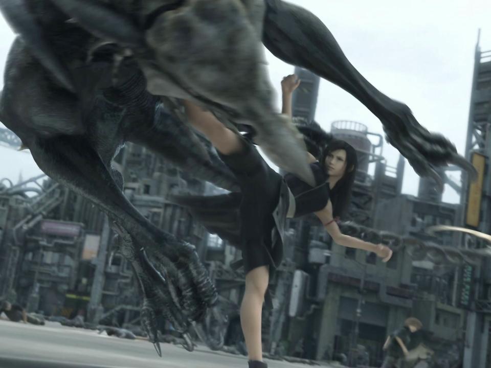 Final Fantasy VII: Advent Children (English Trailer 1)