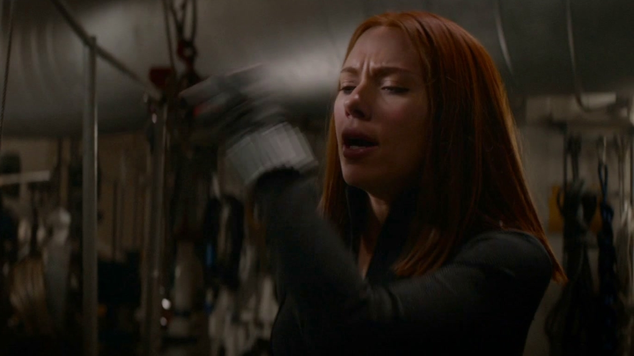 Captain America: The Winter Soldier: Engine Room Secure