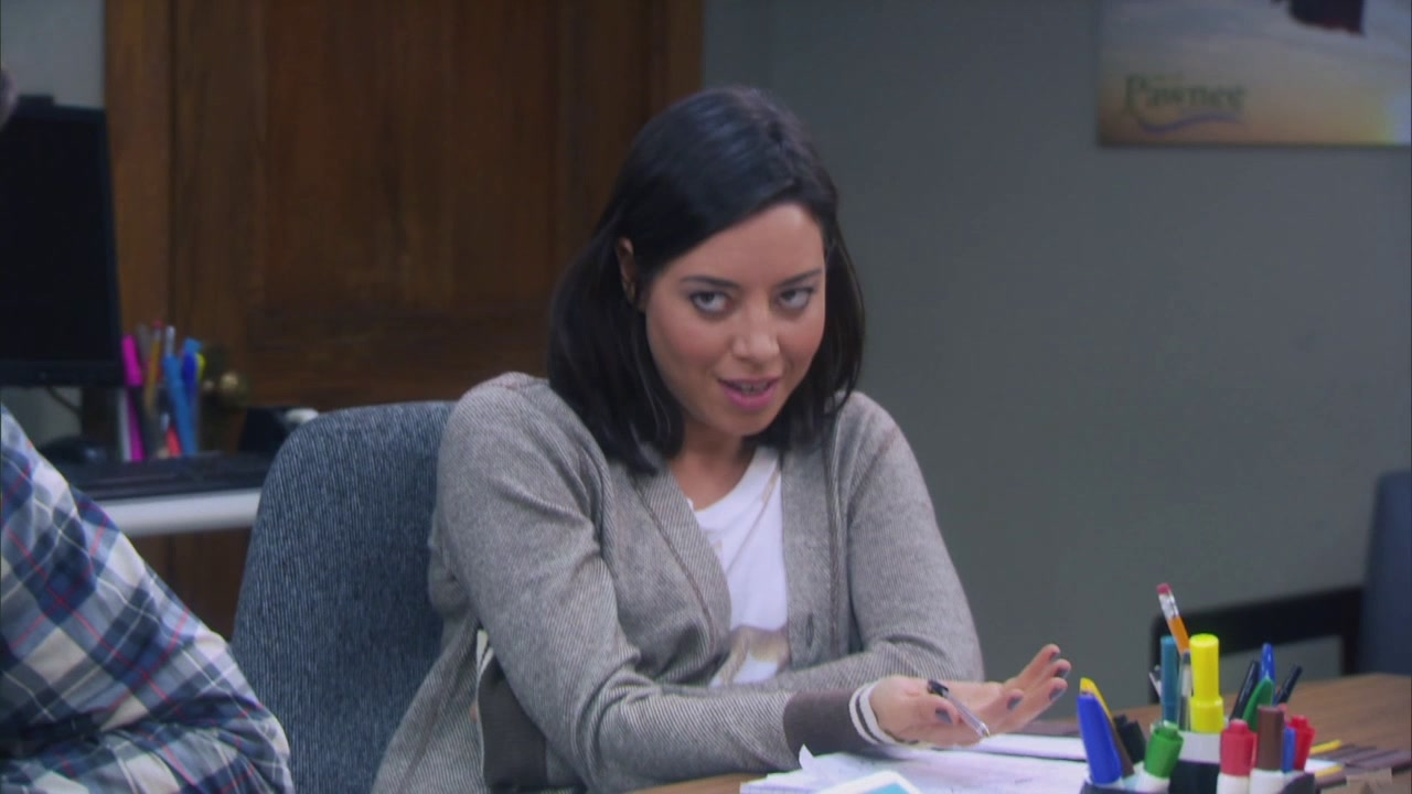 Parks And Recreation: Andy Keeping A Secret