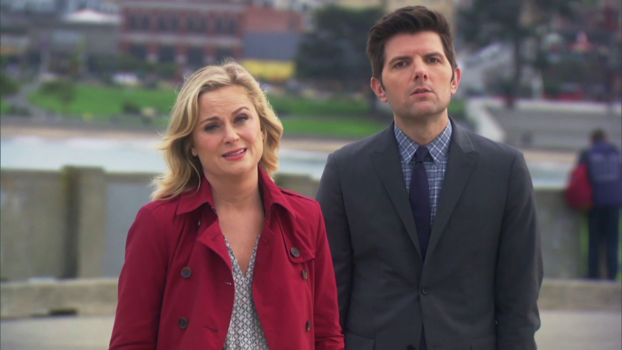 Parks And Recreation: Leslie, Ben and Andy