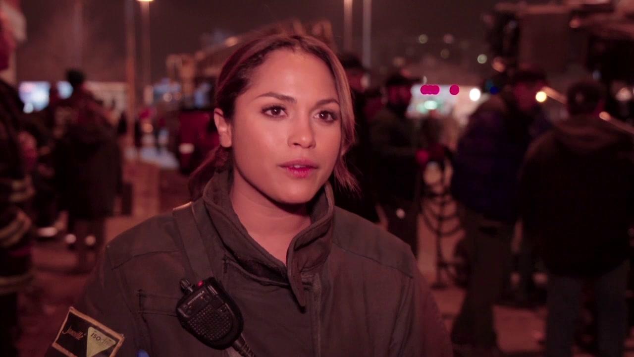 Chicago Fire: Interview Excerpts: Monica Raymund