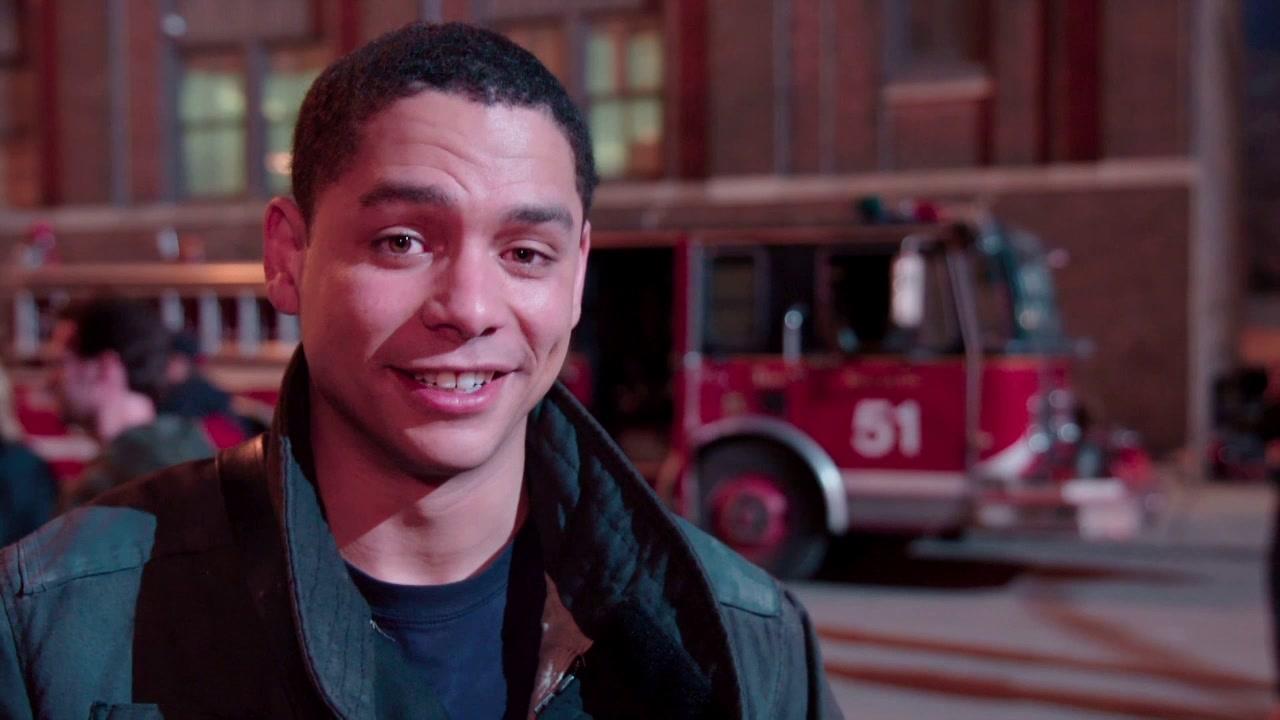Chicago Fire: Interview Excerpts: Charlie Barnett