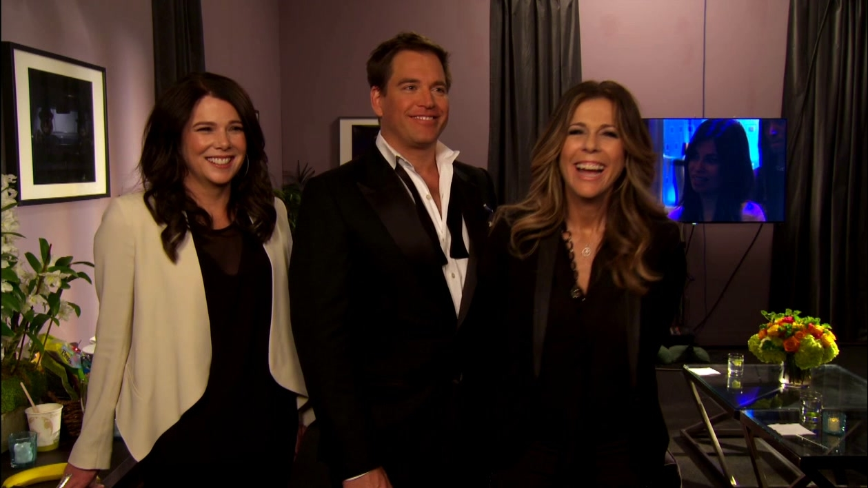 Hollywood Game Night: Interview Excerpts Lauren Graham, Michael Weatherly, And Rita Wilson
