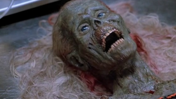 The Return Of The Living Dead: Half-Corpse Design (Featurette)