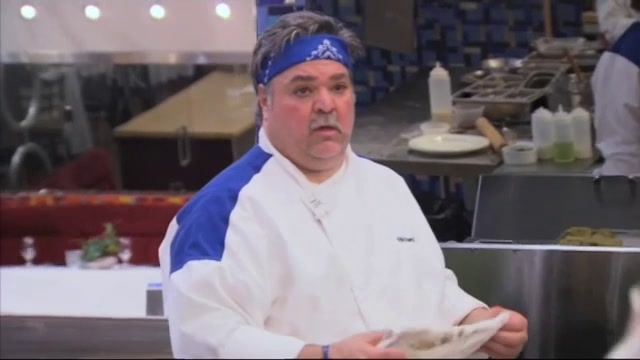 Hell's Kitchen: Blue Team Fire