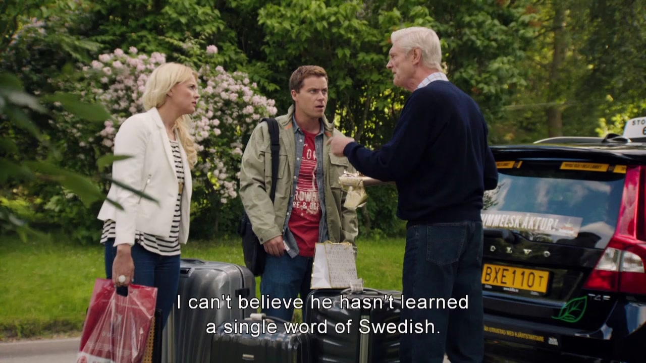 Welcome To Sweden: He Hasn't Learn Any Swedish?
