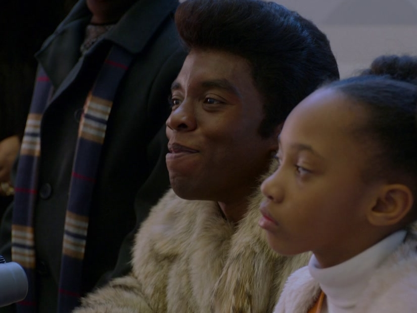 Get On Up: James Brown Explains His Music To A Reporter