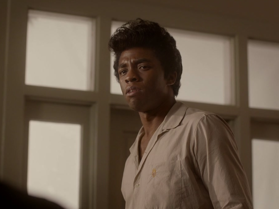 Get On Up: James Brown And His Band Try To Iron Out A Song In Rehersal