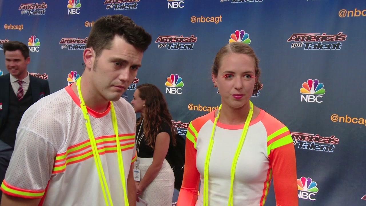 America's Got Talent: Flight Crew Jump Rope