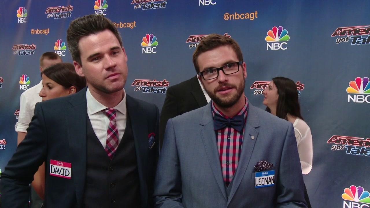 America's Got Talent: David & Leeman