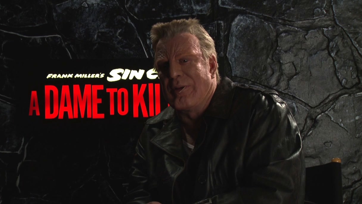 Sin City: A Dame To Kill For: Mickey Rourke On Working With Robert Rodriguez Again