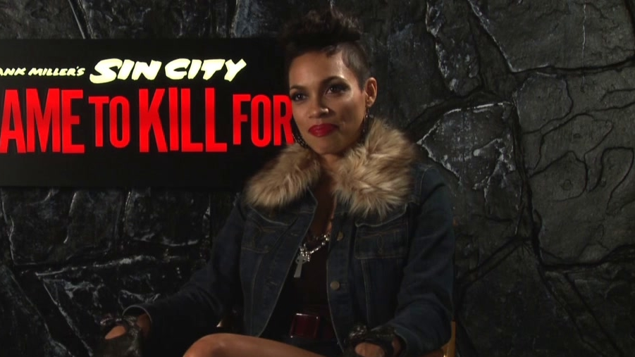 Sin City: A Dame To Kill For: Rosario Dawson On The Characters Of Sin City
