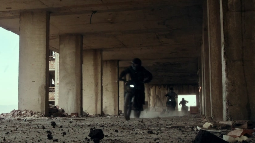 The Expendables 3: Bike Jump