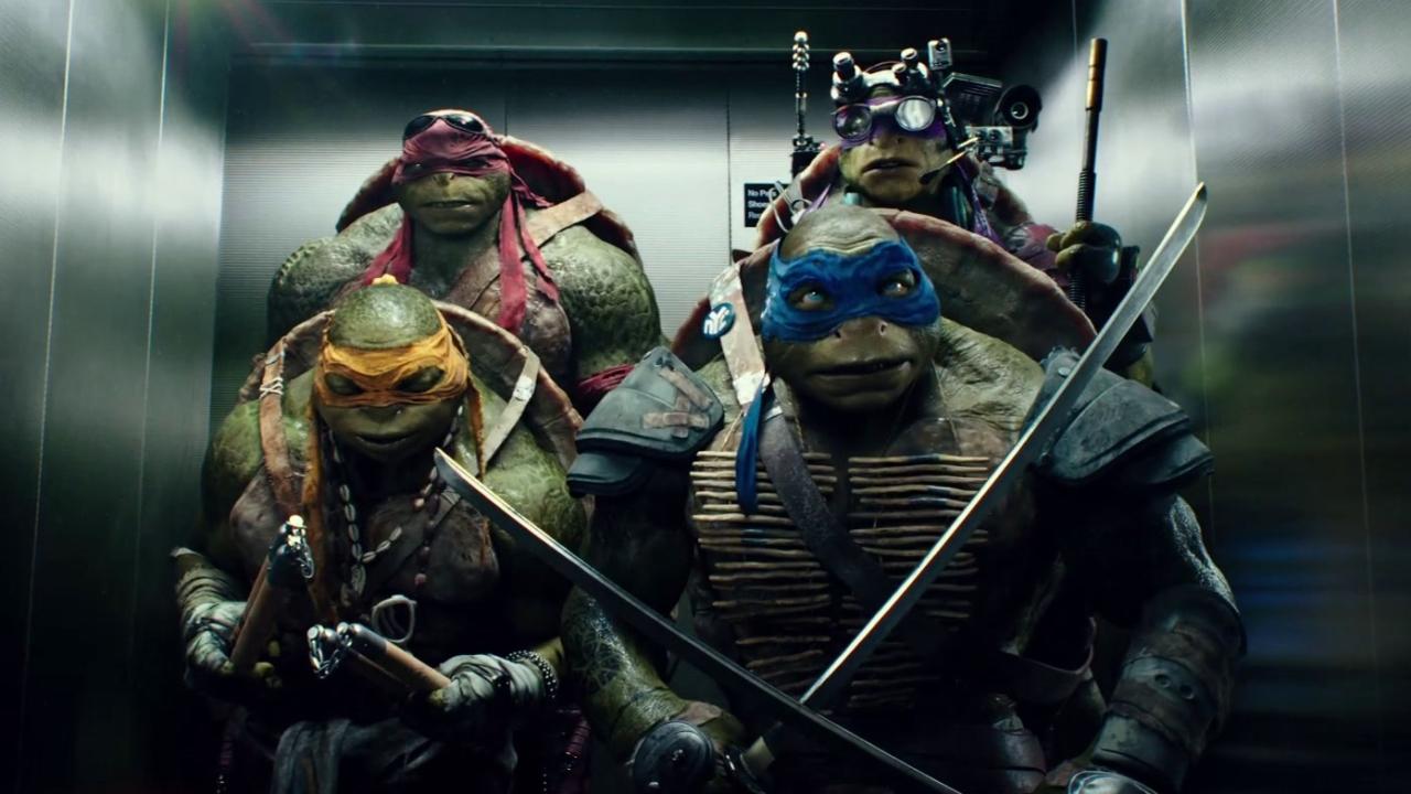 Teenage Mutant Ninja Turtles: Elevator