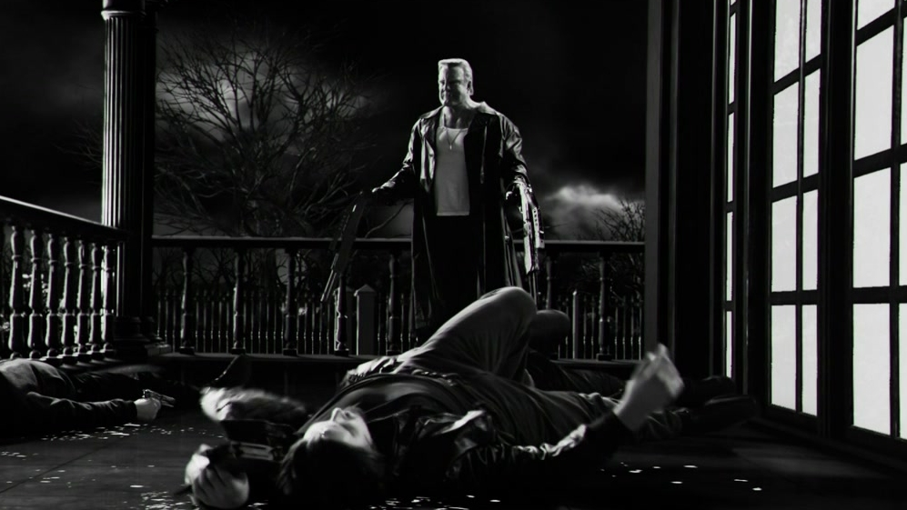 Sin City: A Dame To Kill For: Marv Kills At Rourke's