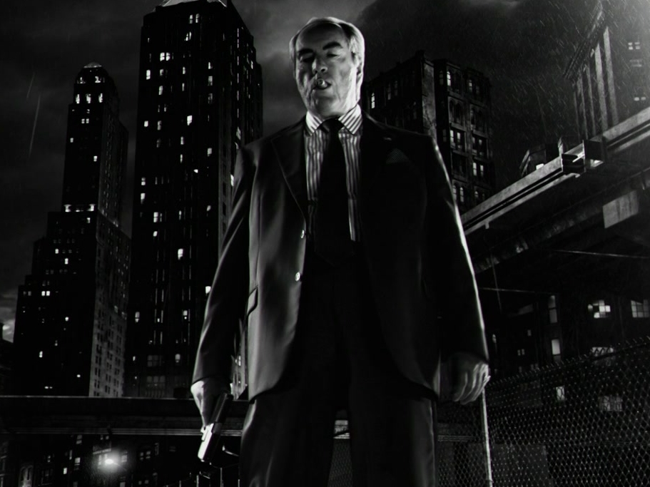 Sin City: A Dame To Kill For: Johnny Gets Pummeled By Roark
