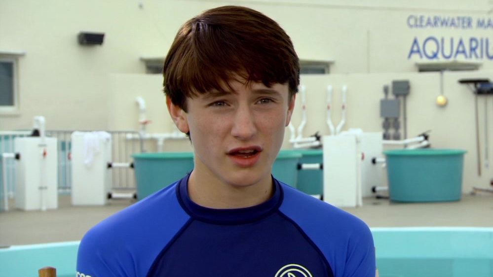 Dolphin Tale 2: Nathan Gamble On How Sawyer Has Grown Since The First Film