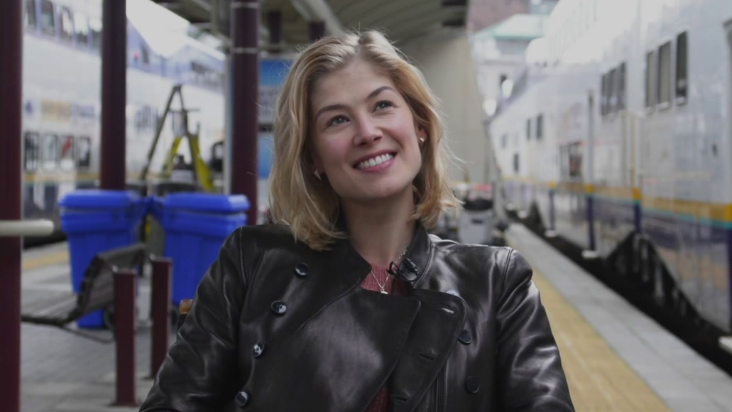 Hector And The Search For Happiness: Rosamund Pike On Her Character