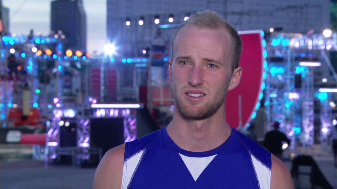American Ninja Warrior: Interview Excerpt Elet Hall Team USA Contestant