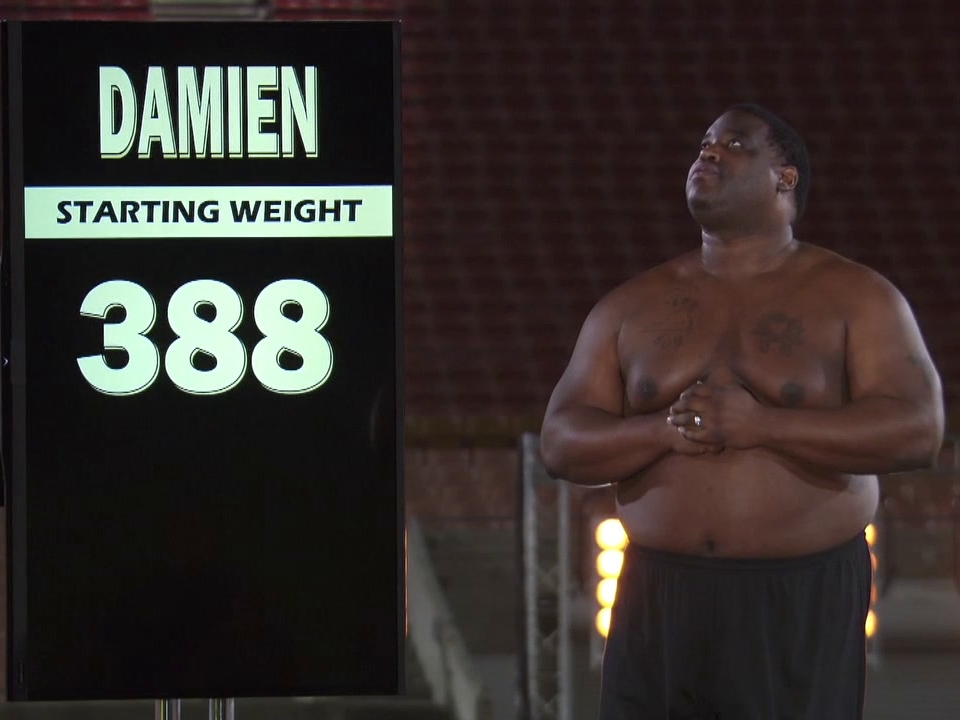 The Biggest Loser: Damian Weighs In