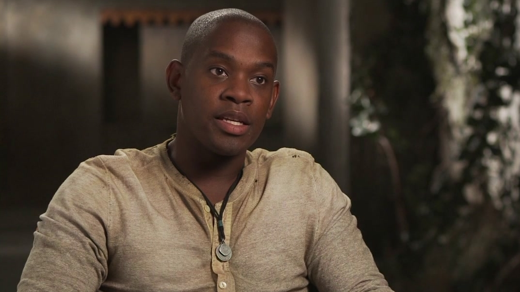 The Maze Runner: Aml Ameen On Alby