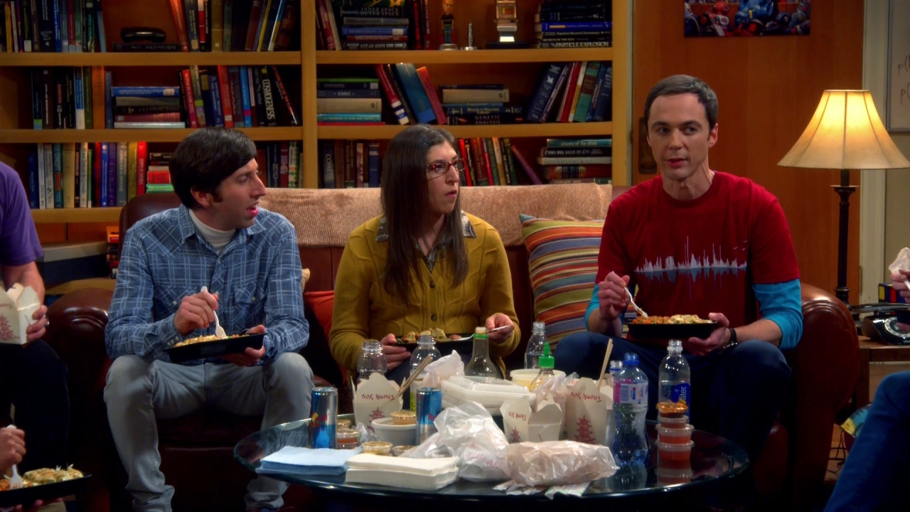The Big Bang Theory: The Locomotion Interruption