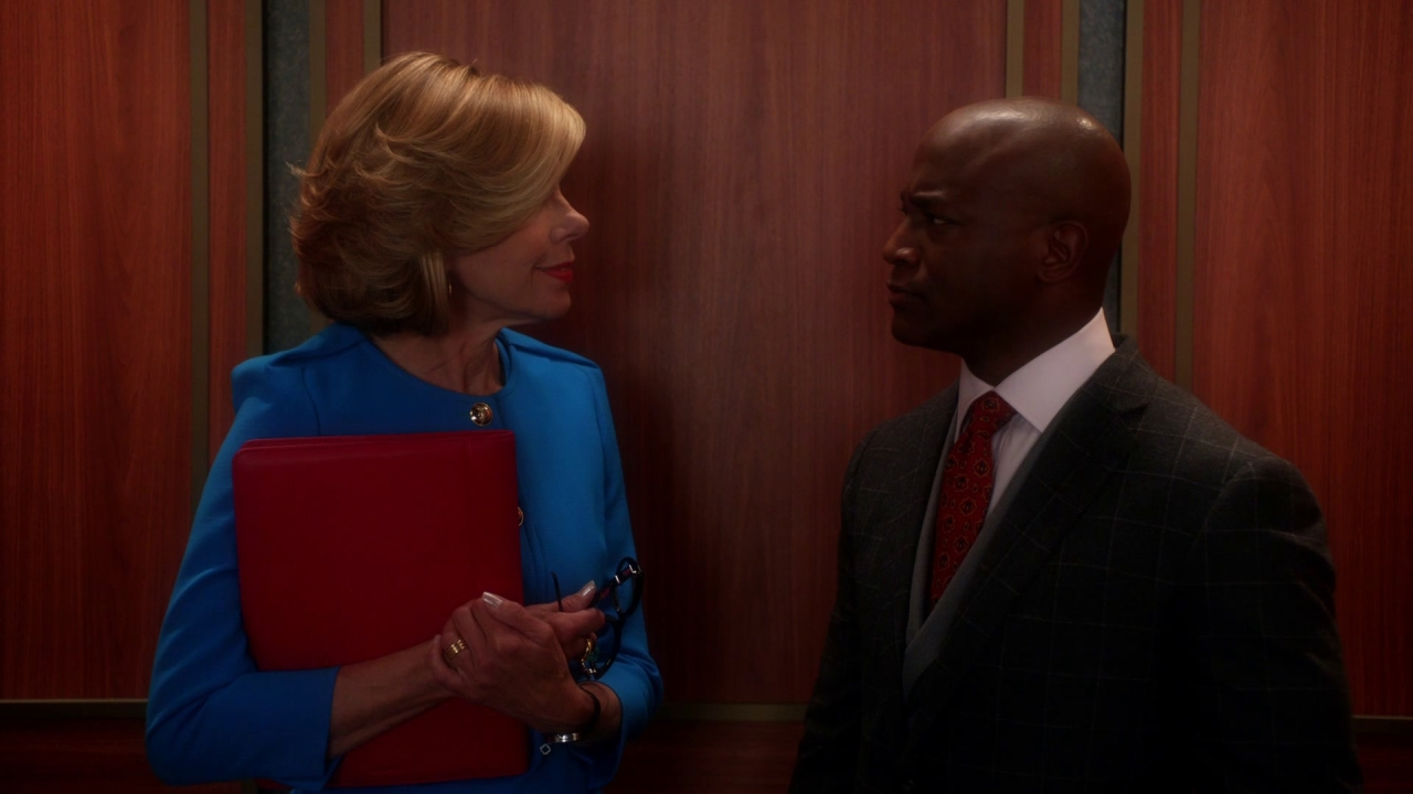 The Good Wife: Diane Shares