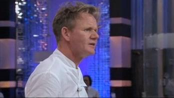 Hell's Kitchen: Overcooked Salmon