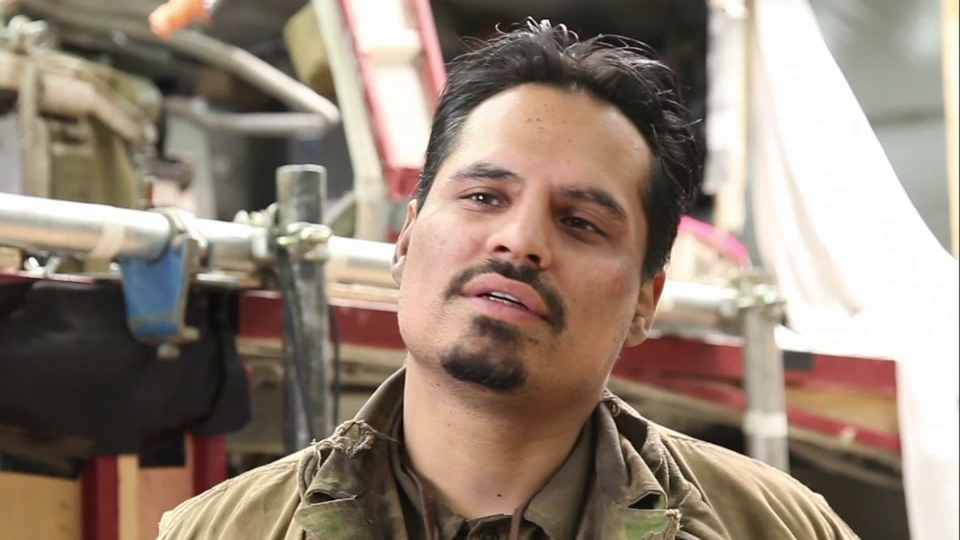 Fury: Michael Pena On The Script