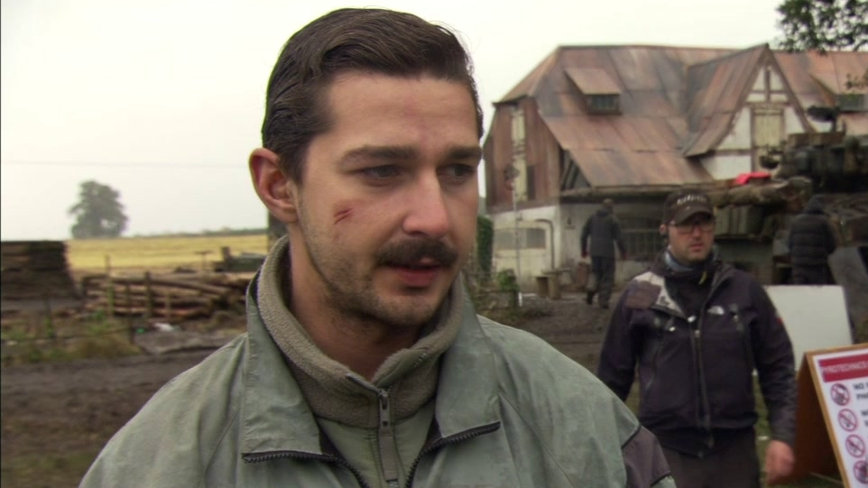 Fury: Shai Labeouf On Preparing For The Role