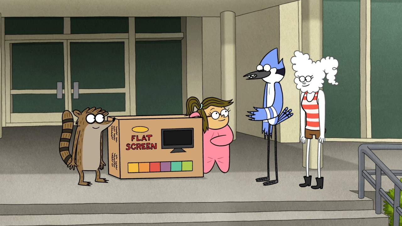 Regular Show: Eileen Flat Screen