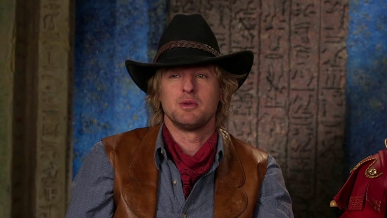 Night At The Museum: Secret Of The Tomb: Owen Wilson & Steve Coogan On Their Characters