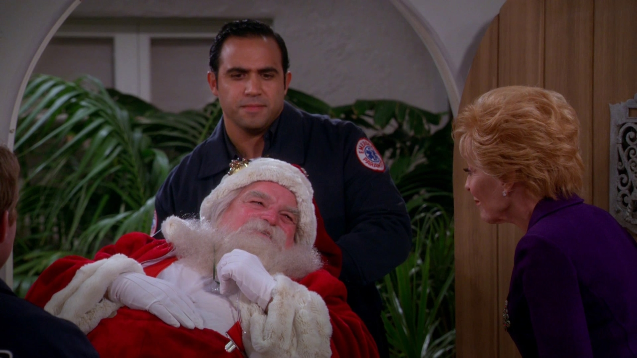 Two And A Half Men: Will Santa Be Ok?