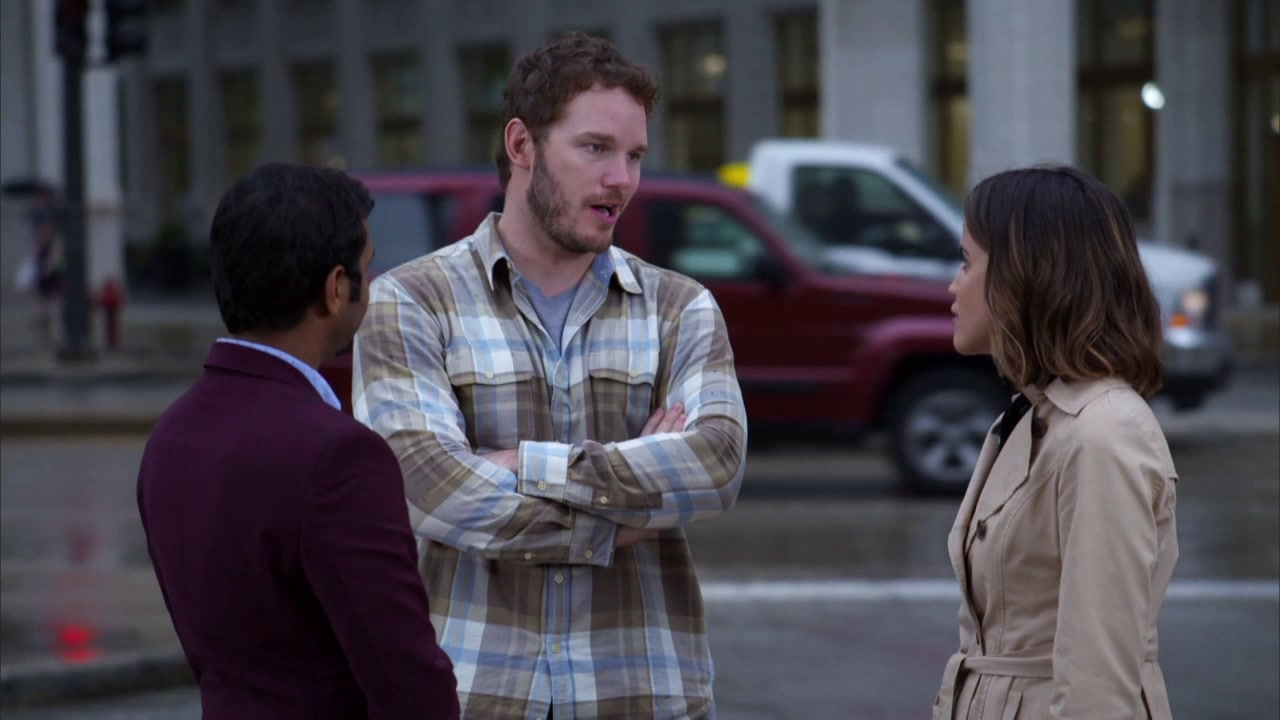 Parks And Recreation: Andy And Tom Arrive In Chicago