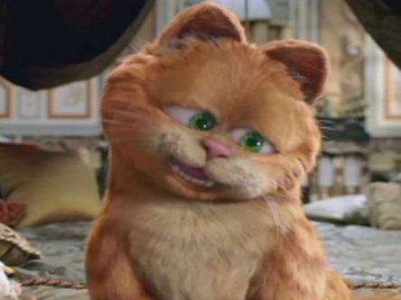 Garfield A Tale Of Two Kitties Scene: It Is Good To Be The King