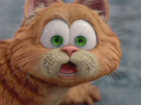 Garfield A Tale Of Two Kitties Scene: There's Pie In Here