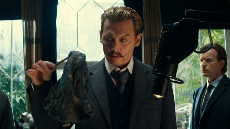 Mortdecai: Larger Than Life (Featurette)