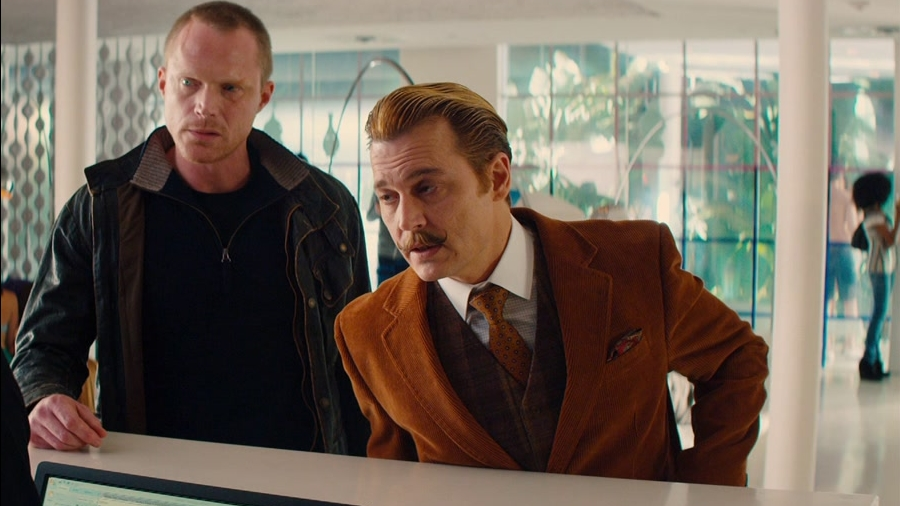 Mortdecai: Checking In