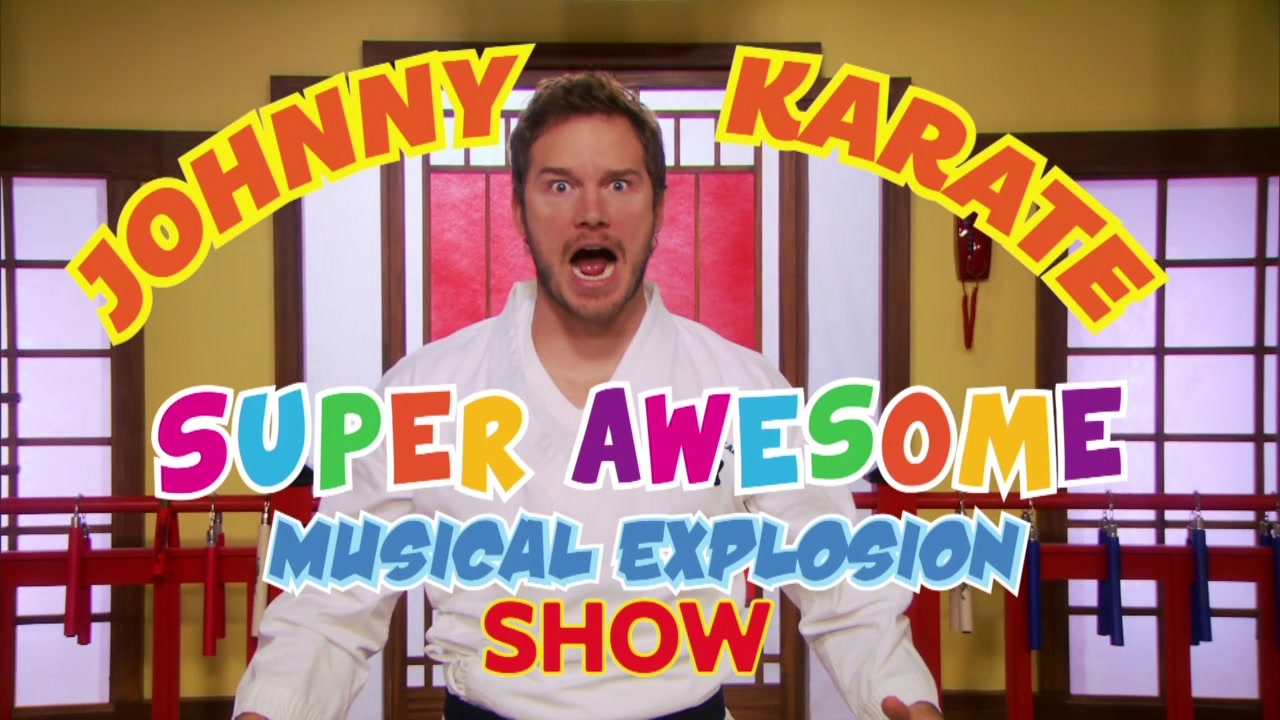 Parks And Recreation: Johnny Karate