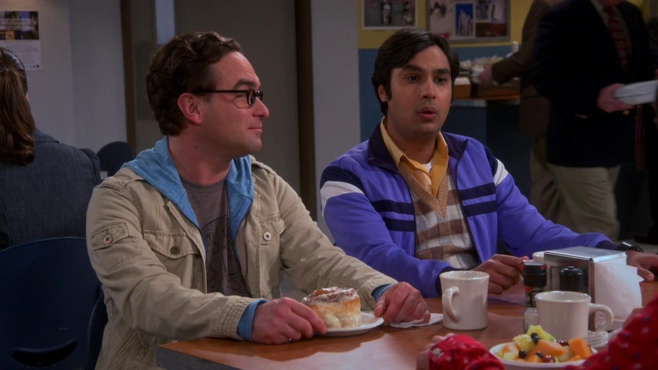 The Big Bang Theory: The Anxiety Optimization