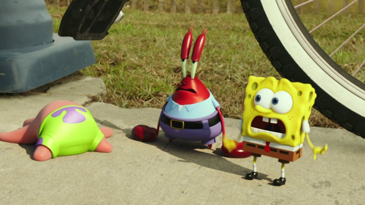 The Spongebob Movie: Sponge Out Of Water: Bicycle