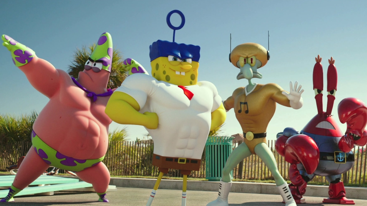 The Spongebob Movie: Sponge Out Of Water: Super Powers
