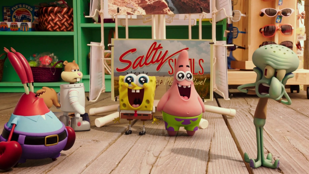 The Spongebob Movie: Sponge Out Of Water (Big Game Spot)