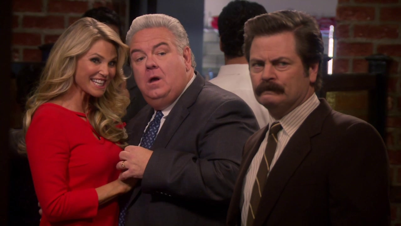 Parks And Recreation: Donna And Joe
