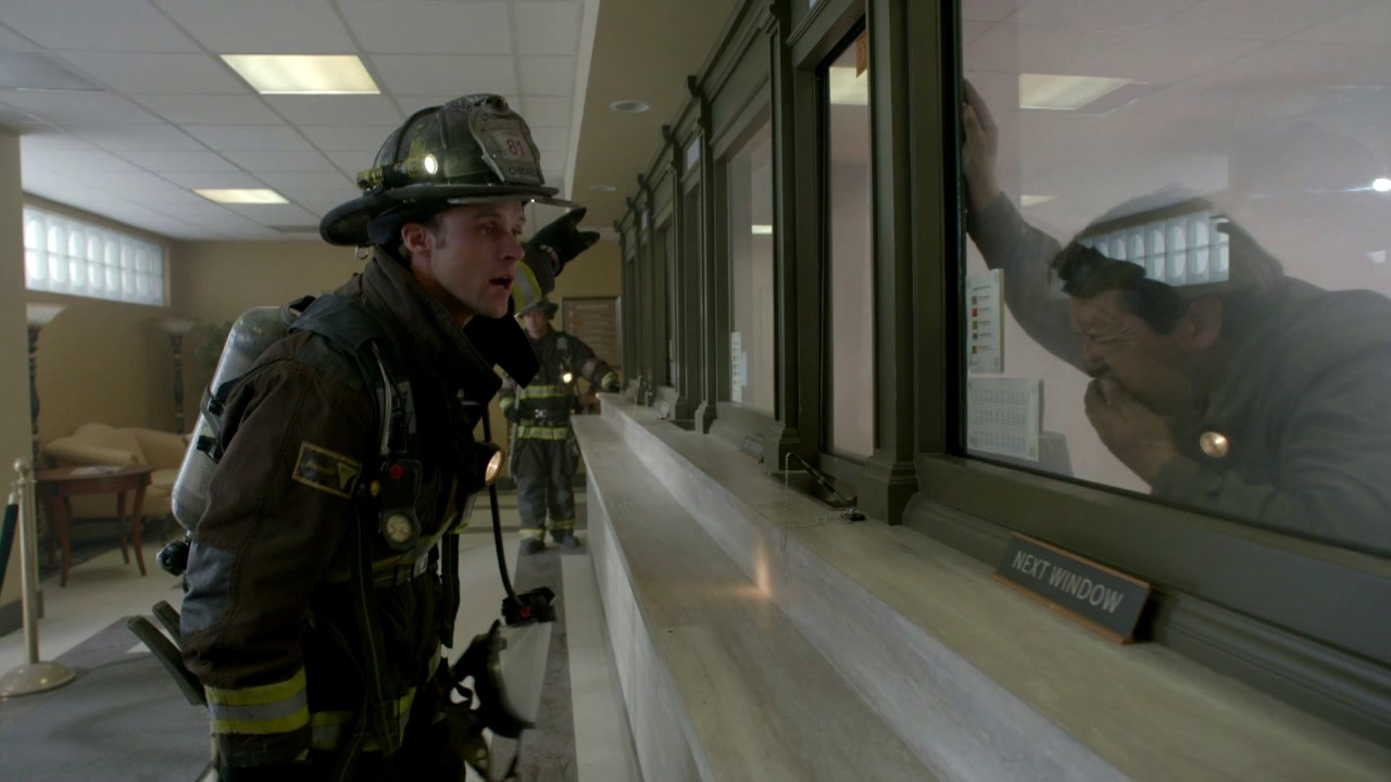 Chicago Fire: Chicago Monetary Exchange On Fire